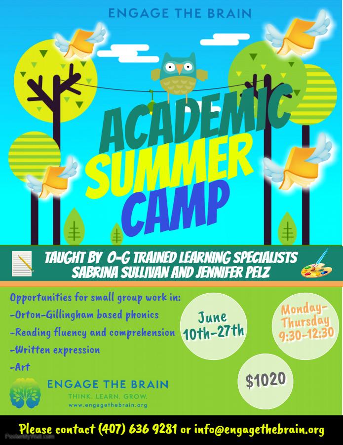 O-G Academic Summer Camp