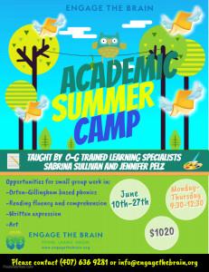 OG Summer Camp Details