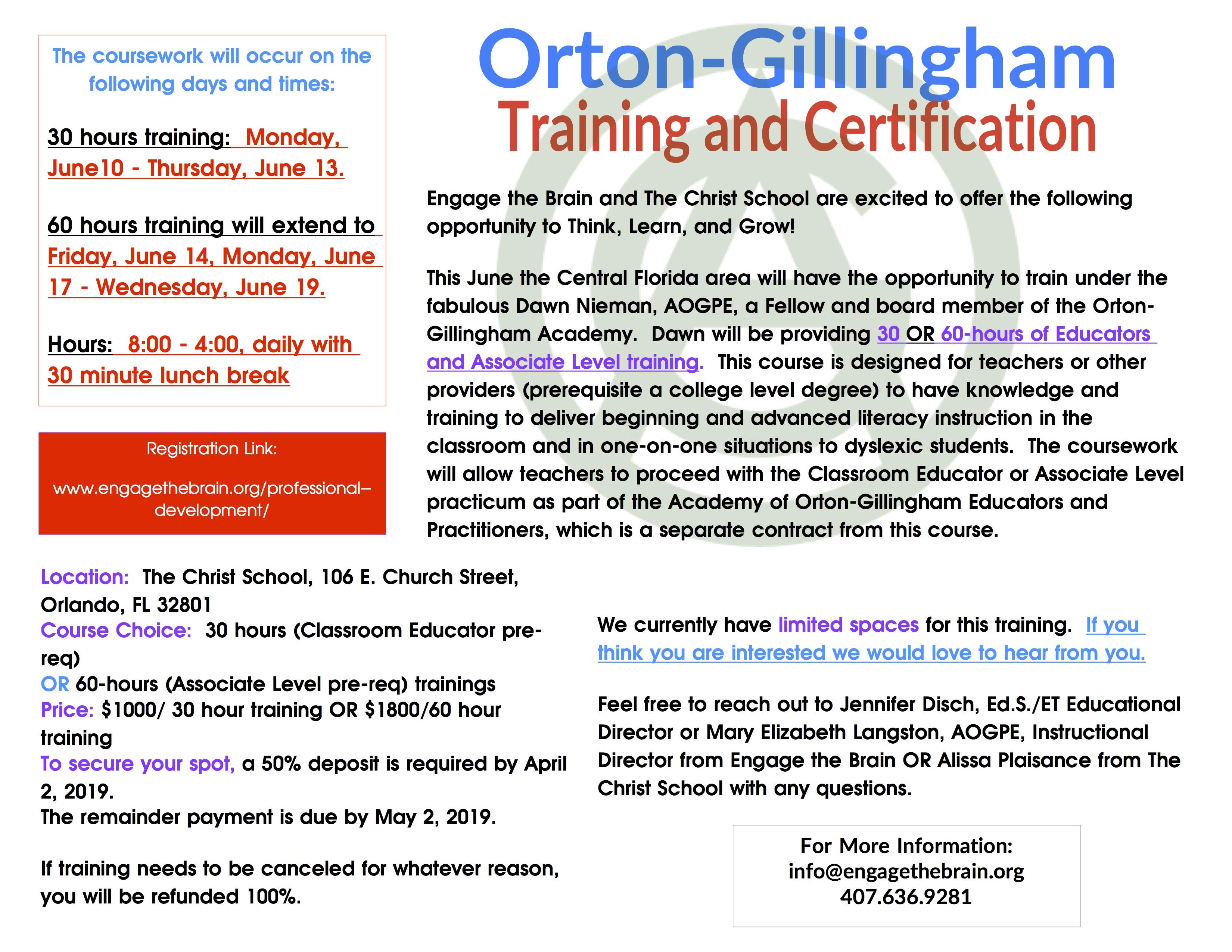 OG Training-CS